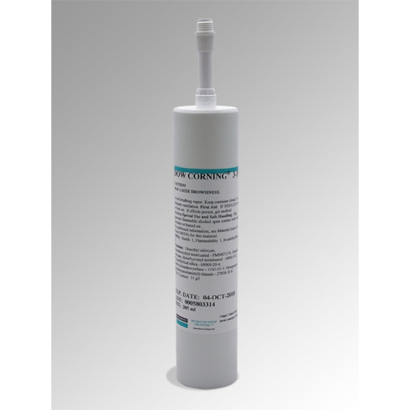 Dow Corning Q3-3636 Base and Catalyst Special Black