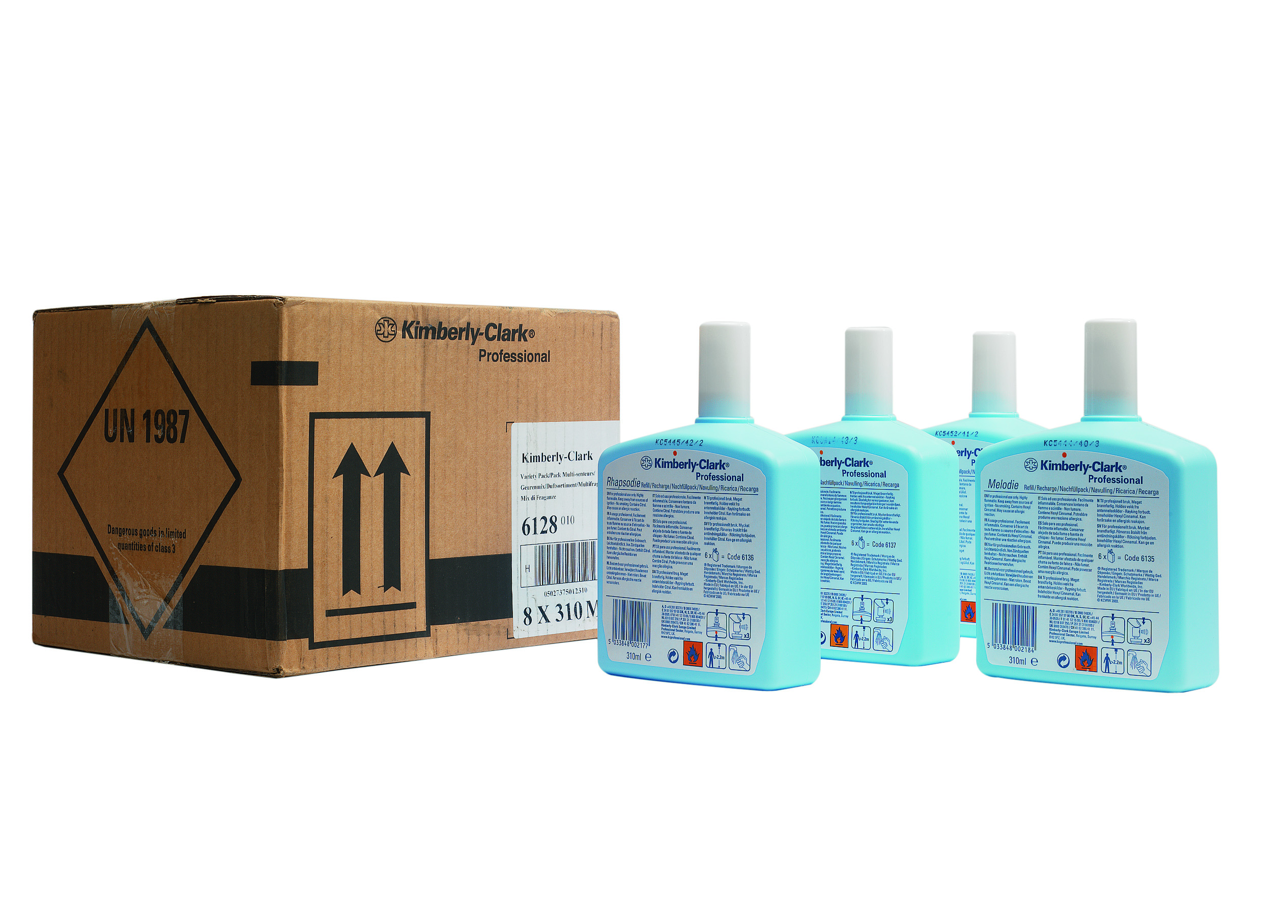 Aircare Spray Refill-Variety Pack
